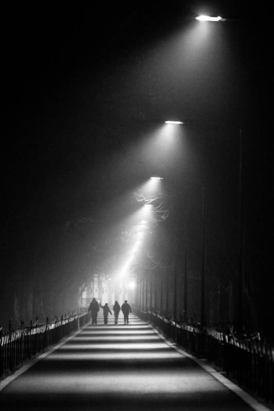 Tunnel Made of Light